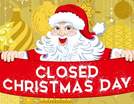 Divine image regarding holiday closed signs printable